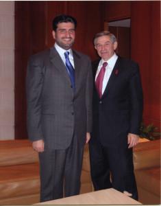 Esam Janahi avec Paul Wolfowitz